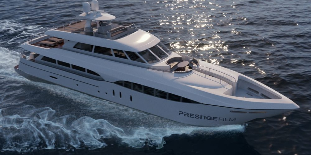 Luxury yacht video production agency